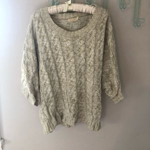 Boutique Cable Knit Sweater